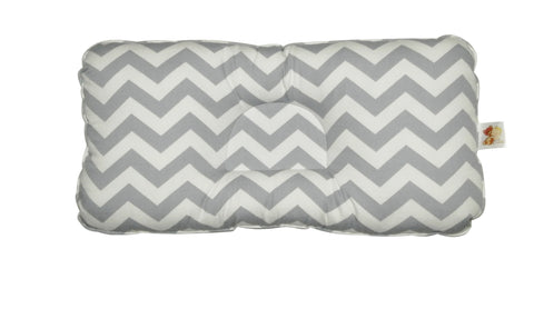 Babycuddle Head Pillow - Chevron Gray