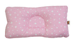 Babycuddle Head Pillow - Mini Pink Stars