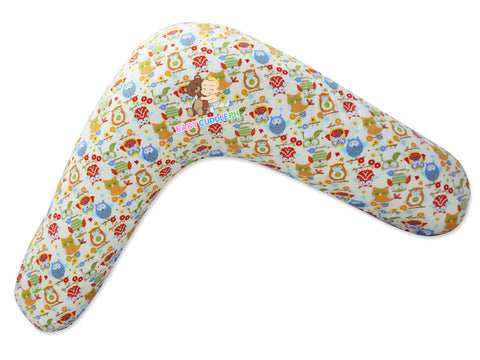 Babycuddle Nursing Pillow (Multi-use) - Little Owl in Green