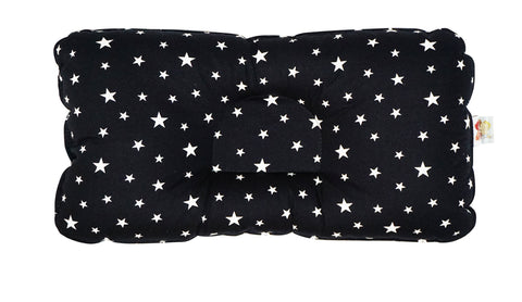 Babycuddle Head Pillow - Mini White Stars