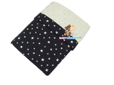 Babycuddle Blanket - Mini White Stars