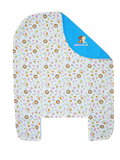 Bed Cover - Baby Animals in Blue