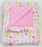 Babycuddle Blanket - Elephant in Pink