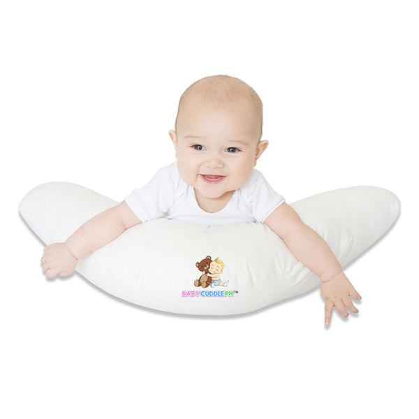 Babycuddle Nursing Pillow (Multi-use) - Pink Clouds