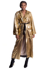 Fe Noel - Riviera Oversized Gold Trench