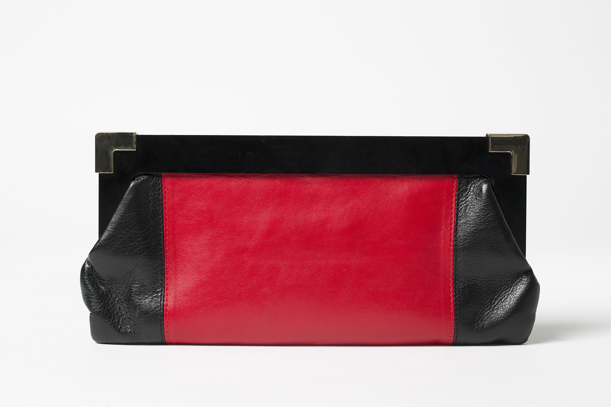 Will-Ahsi - Keri 2 Clutch in Red - Oluwa & Celestin