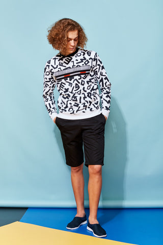 Laurenceairline - Fibadan Tribal Print Sweat Shirt