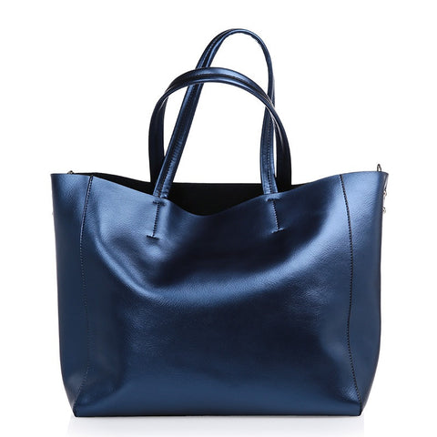 Will-Ahsi - Gwen Tote in Blue - Oluwa & Celestin