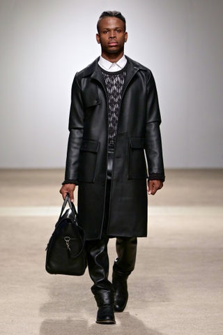 Tokyo James - Long Leather Coat