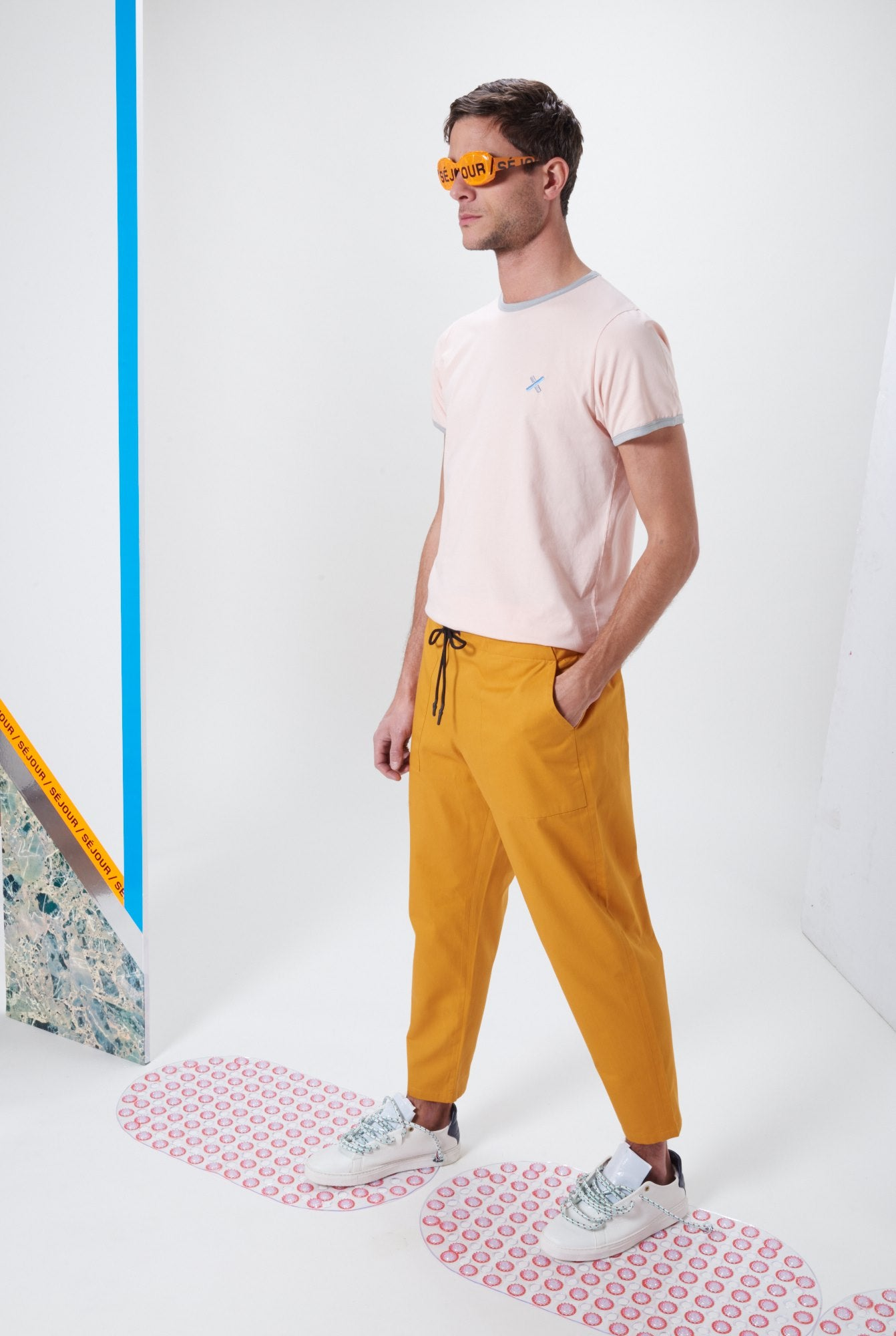 Laurenceairline - Punch Rouille Pants