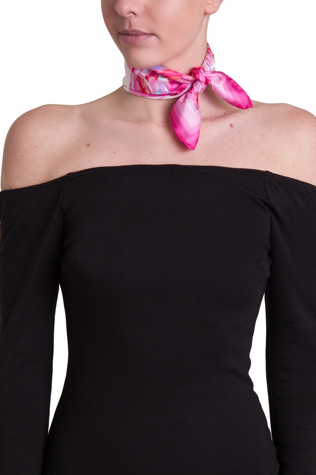 Fabryan - Pink Silk Neckerchief