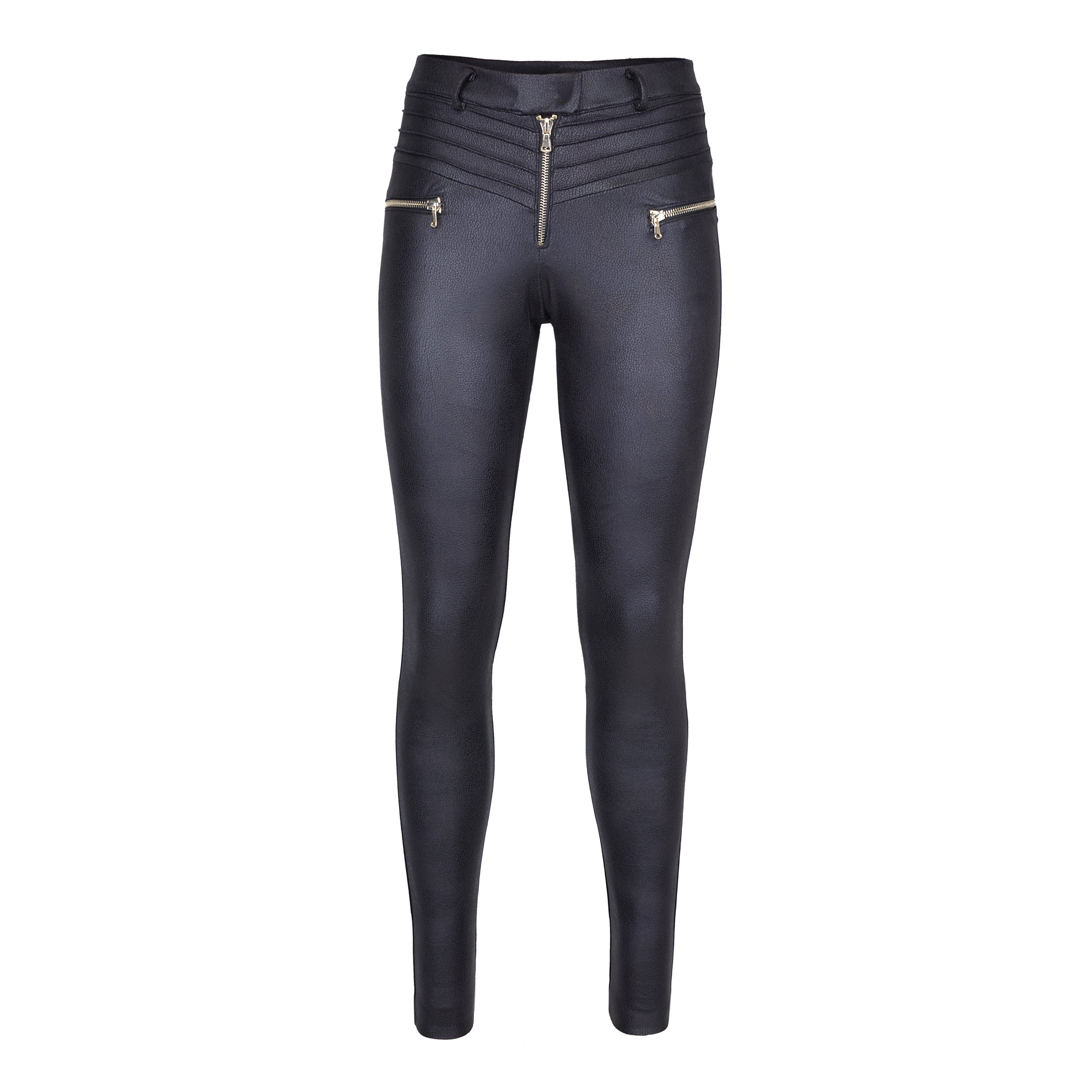 Diane Paris - Stretch Jersey & Eco Leather Pants