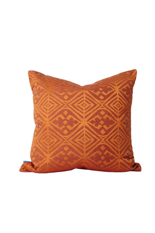 Malene B - Mustique Pillow in Rust- Oluwa & Celestin
