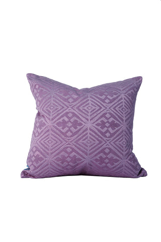 Malene B - Mustique Pillow in Grape - Oluwa & Celestin