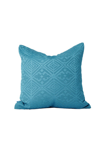 Malene B - Mustique Pillow in Aqua - Oluwa & Celestin