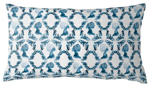 AphroChic - Haze Pillow in Blue