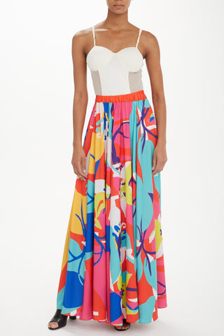 Trèfle Designs - Renee Wrap Skirt in Tigerlily - Oluwa & Celestin