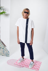 Laurenceairline - Conexion White T-Shirt