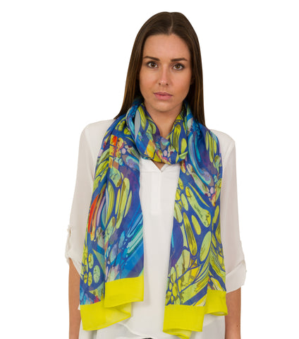Fabryan - Rainbow Silk Neckerchief