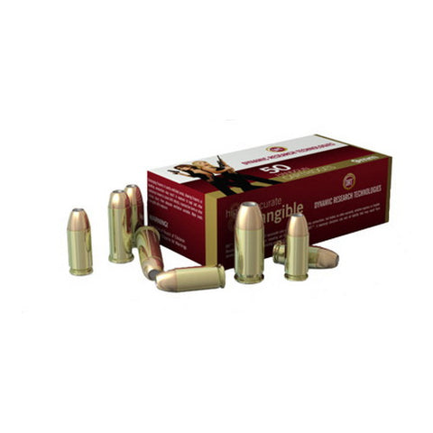 Dynamic Research Technologies 45 ACP Hollow Point Ammo