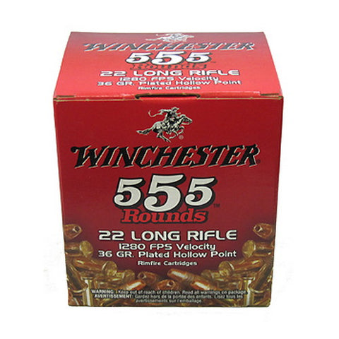 Winchester 22 Long Rifle Hollow Point Bulk Pack Ammo