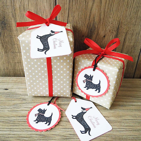 Scotty Dog Gift Tags