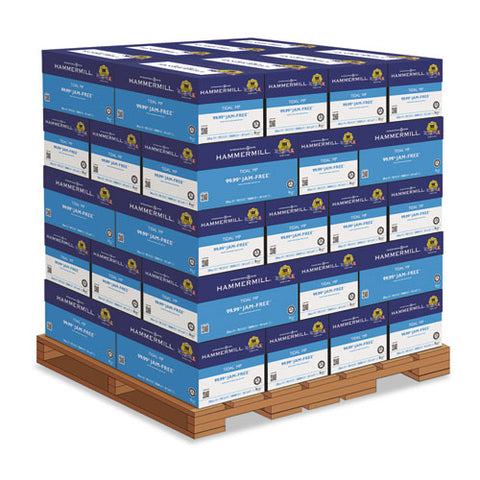 Hammermill - Tidal MP Copy Paper, 92 Brightness, 20lb, 8-1/2 x 11, White, 200,000 Sheets, Sold as 1 PL