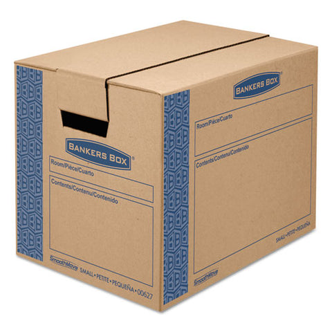 SmoothMove Prime Small Moving Boxes w/Tuck Lid, 16l x 12w x 12h, Kraft, 15/CT, Sold as 1 Carton, 15 Each per Carton