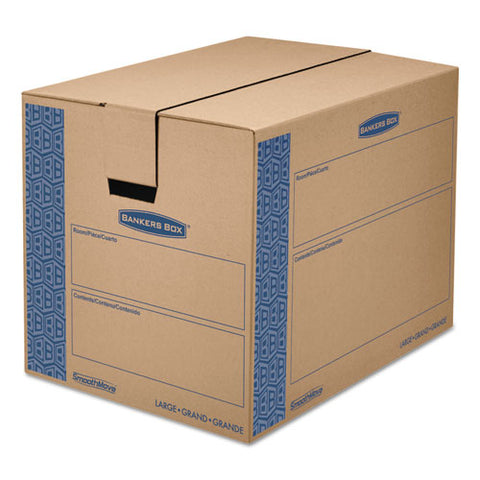 Bankers Box - SmoothMove Moving Storage Box, Extra Strength, Large, 18w x 24d x 18h, Kraft, Sold as 1 CT