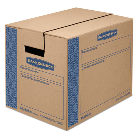 Bankers Box - SmoothMove Moving Storage Box, Extra Strength, Small, 12w x 12d x 16h, Kraft, Sold as 1 CT