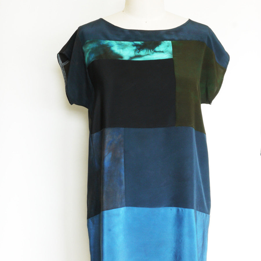readymade FRESCO Hand dyed silk Dress