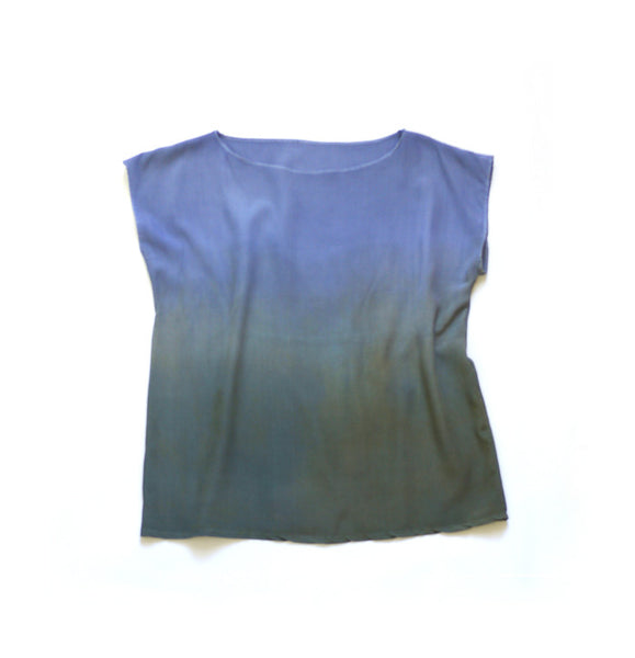 MEADOW.  ombre silk top