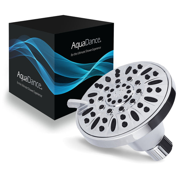 AquaDance® 3305 Premium High Pressure 6-setting 4-Inch Shower Head for the Ultimate Shower Spa Experience! Officially Independently Tested to Meet Strict US Quality & Performance Standards!