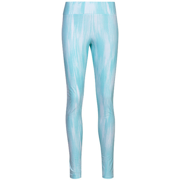 Yoke Band Legging in Turquoise Chine