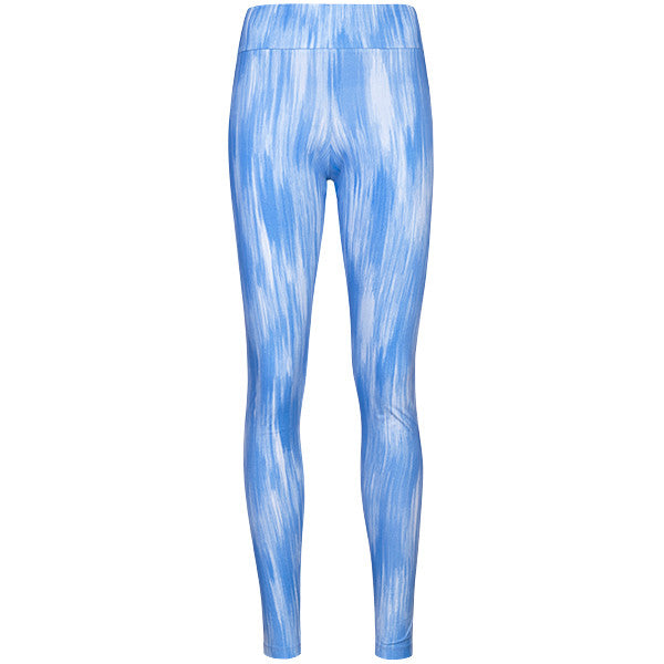 Yoke Band Legging in Periwinkle Chine