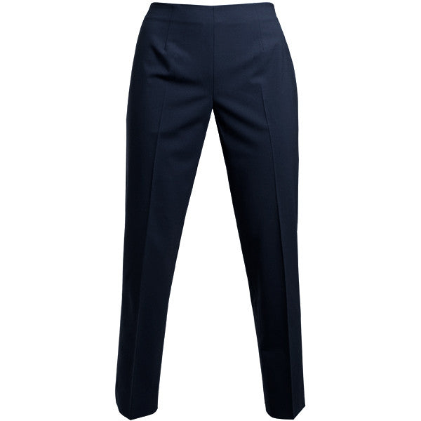 Bi Stretch Short Classic Side Zip Pant in Navy