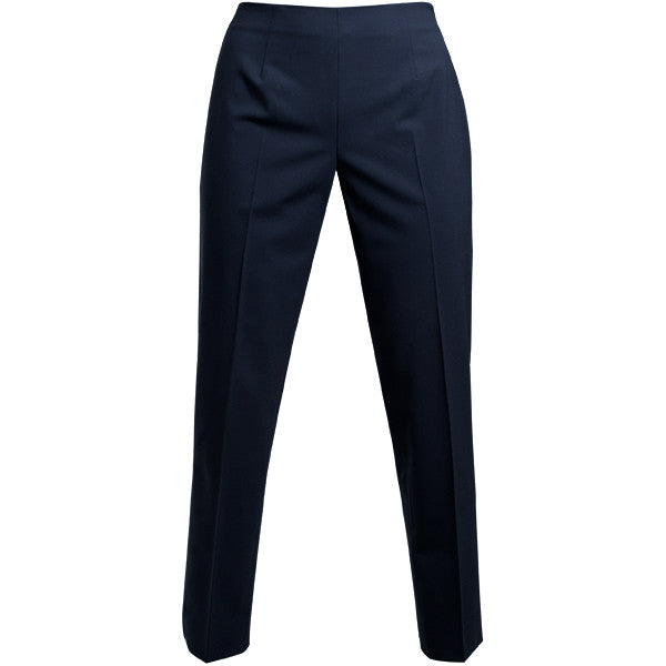 Bi Stretch Side Zip Pant in Navy