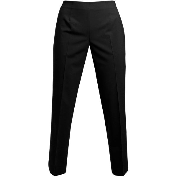 Bi Stretch Side Zip Pant in Black