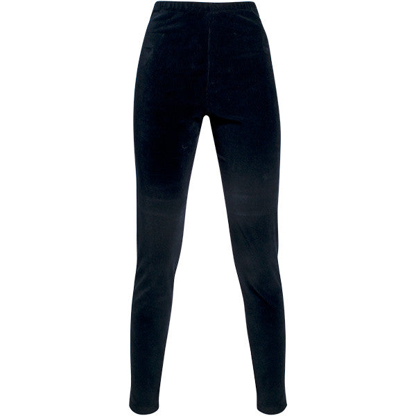 Corduroy Legging in Navy