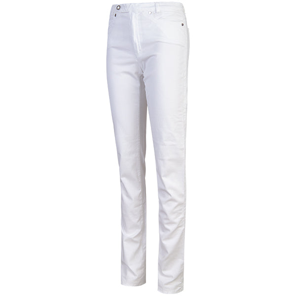 Classic 5-Pocket Jean in White