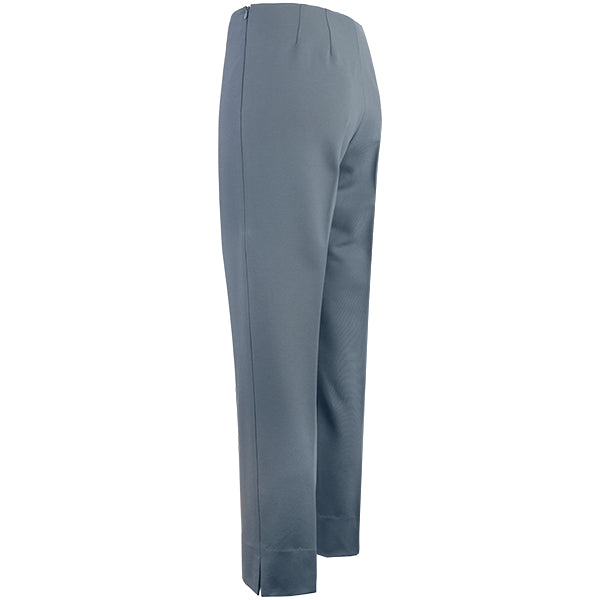 Viscose Knit Capri in Medium Grey