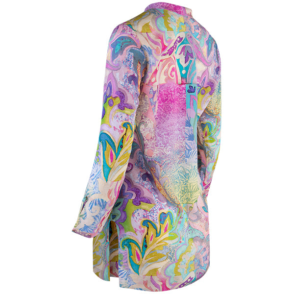 Printed Audrey Tunic in Moroccan Holiday