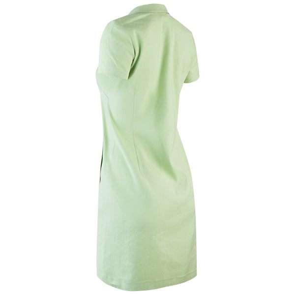 Classic Linen Shirt Dress in Soft Green