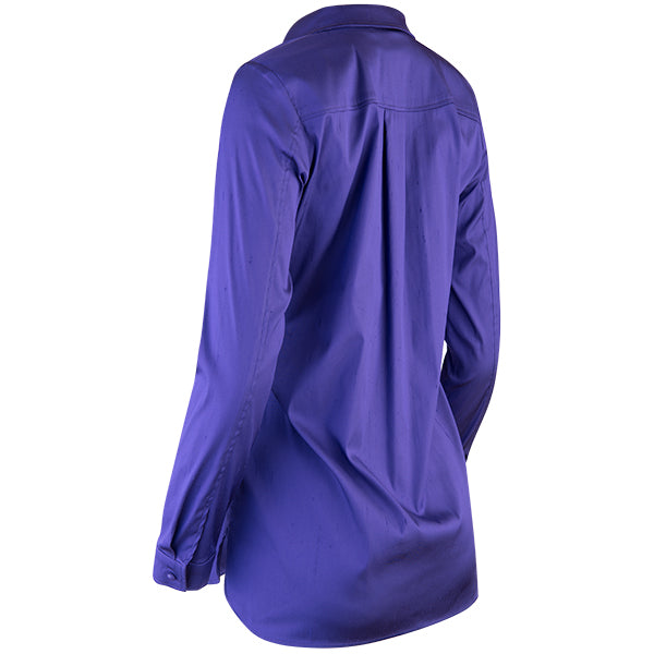 French Pocket Topper in Violet