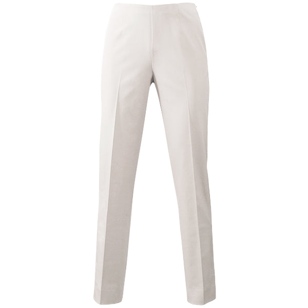 Techno Classic Side Zip Pant in Alabaster