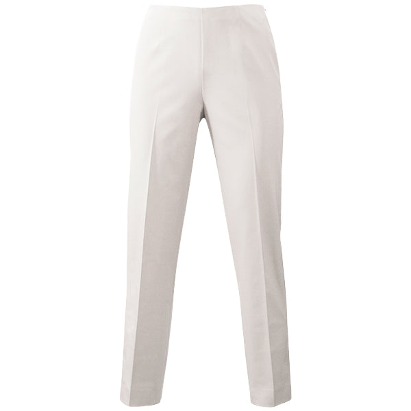 Techno Side Zip Capri in Alabaster