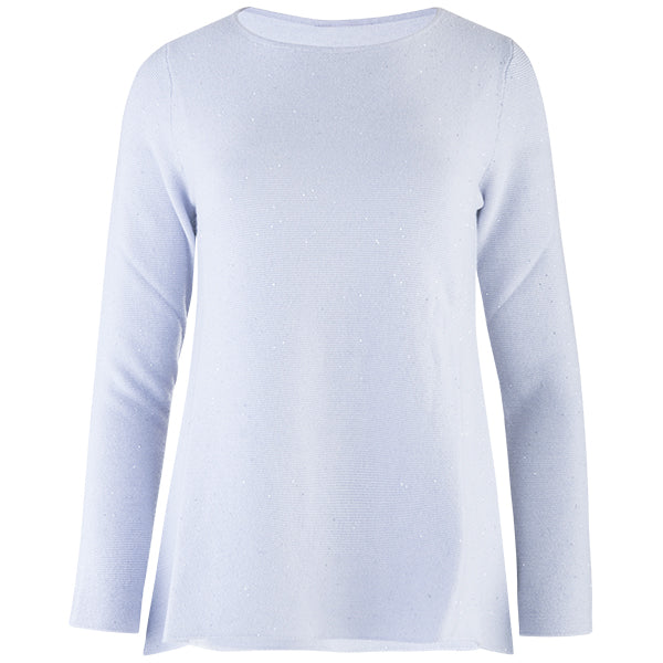 30f73d7477a Sequin Round Neck Pullover in Vapor