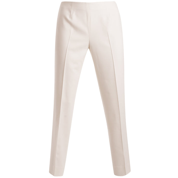 Bi Stretch Classic Side Zip Pant in Winter White
