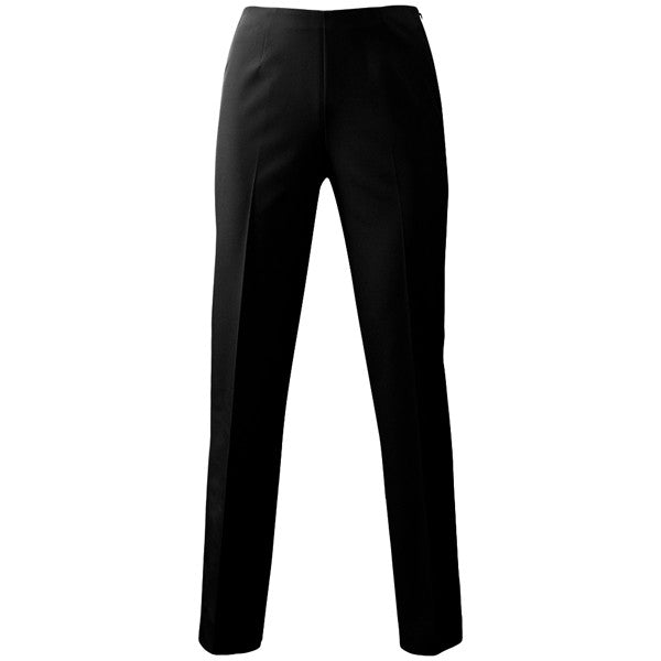Techno Classic Side Zip Pant in Black