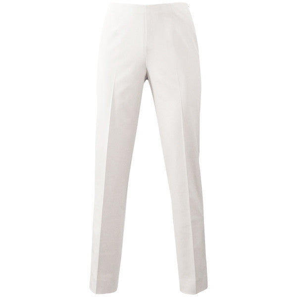 Techno Classic Side Zip Pant in White